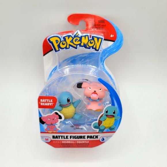 Pokémon Battle Snubbull + Squirtle